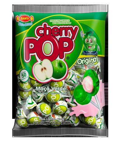 Cherry Pop Maçã Verde -