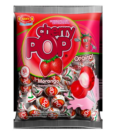 Cherry Pop Morango -