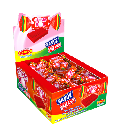 Chicle Bol Strawberry -