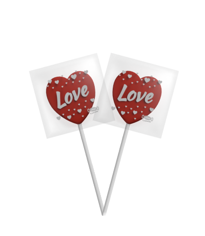 Heart Love Pop Strawberry -