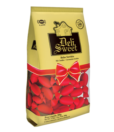 Deli Sweet Red - Bala Deli Sweet Vermelha