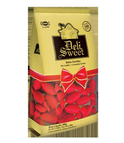 Deli Sweet Vermelho - Bala Deli Sweet Vermelha