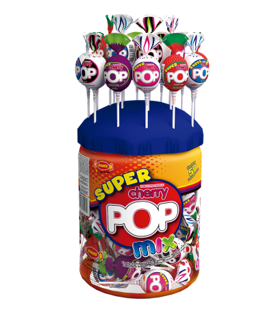 Expositor Super Cherry Pop Mix -
