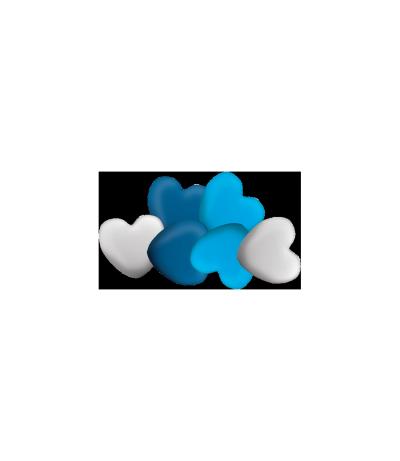 Pipper Azul Colorido -