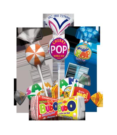 Samix Assorted Candies and Lollipop -
