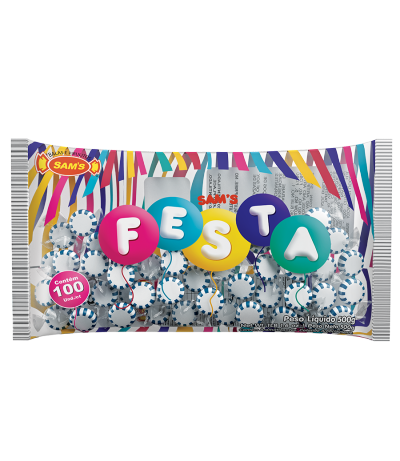 Starlight Sam's Festa Blue Raspberry -