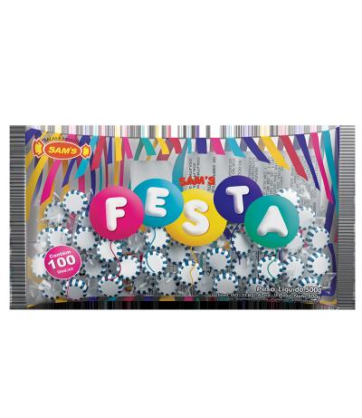 Sam's Festa Framboesa Azul -
