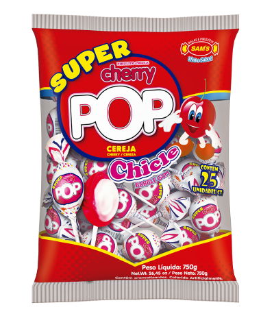 Super Cherry Pop Cereja -