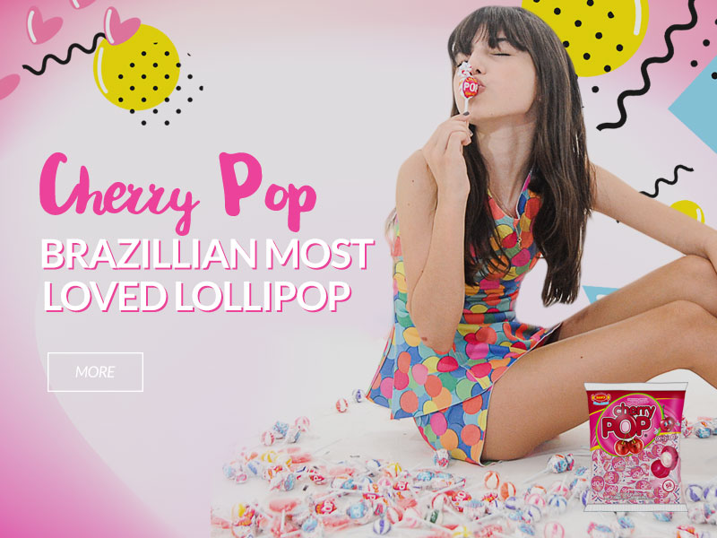 Cherry Pop Cereja - Ingles