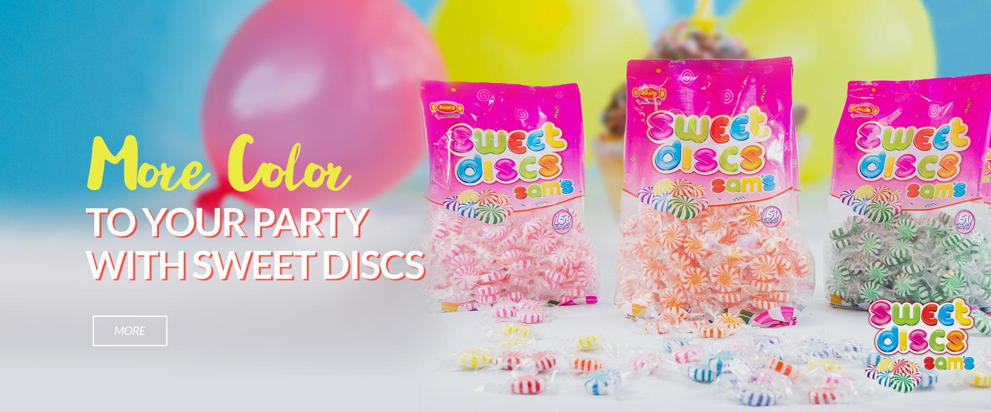 Sweet Discs Ingles