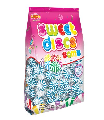 Sweet Disc Blue Raspberry -