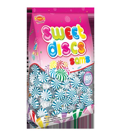 Sweet Discs Sam's Framboesa Azul -