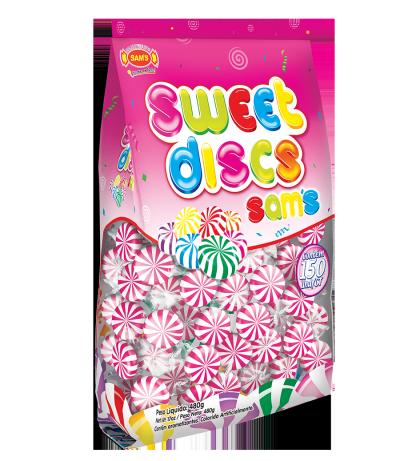 Sweet Discs Sam's Morango Rosa -