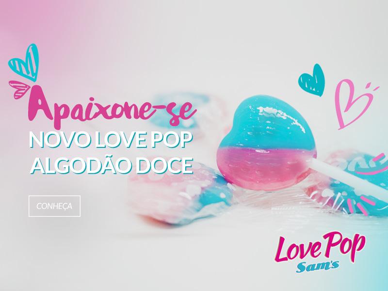 Love Pop Algodão Doce