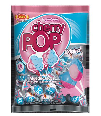 Cherry Pop Algodão-Doce -