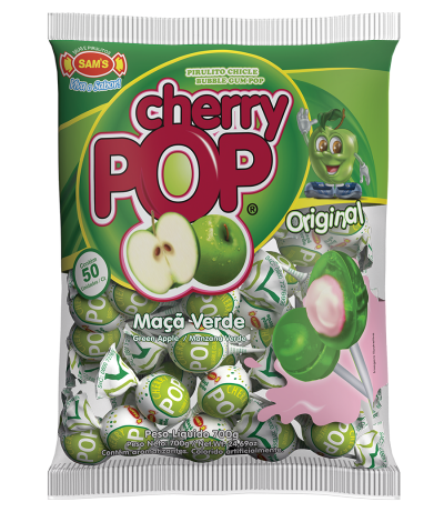 Cherry Pop Maçã Verde -