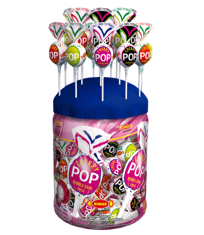 Cherry Pop Mix Jar -
