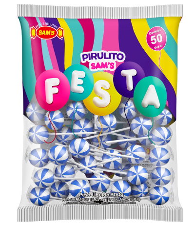 Sam's Festa Blue Raspberry -