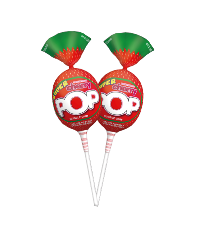 Super Cherry Pop Morango -