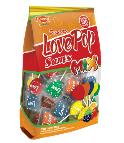 Heart Flat Pop Mix Stand Up -