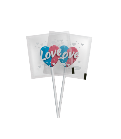 Mini Love Pop Algodão-Doce -