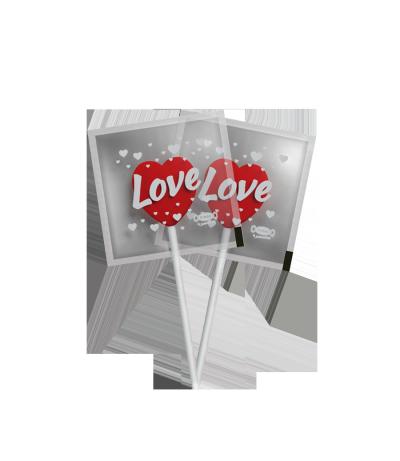 Mini Love Pop Morango -