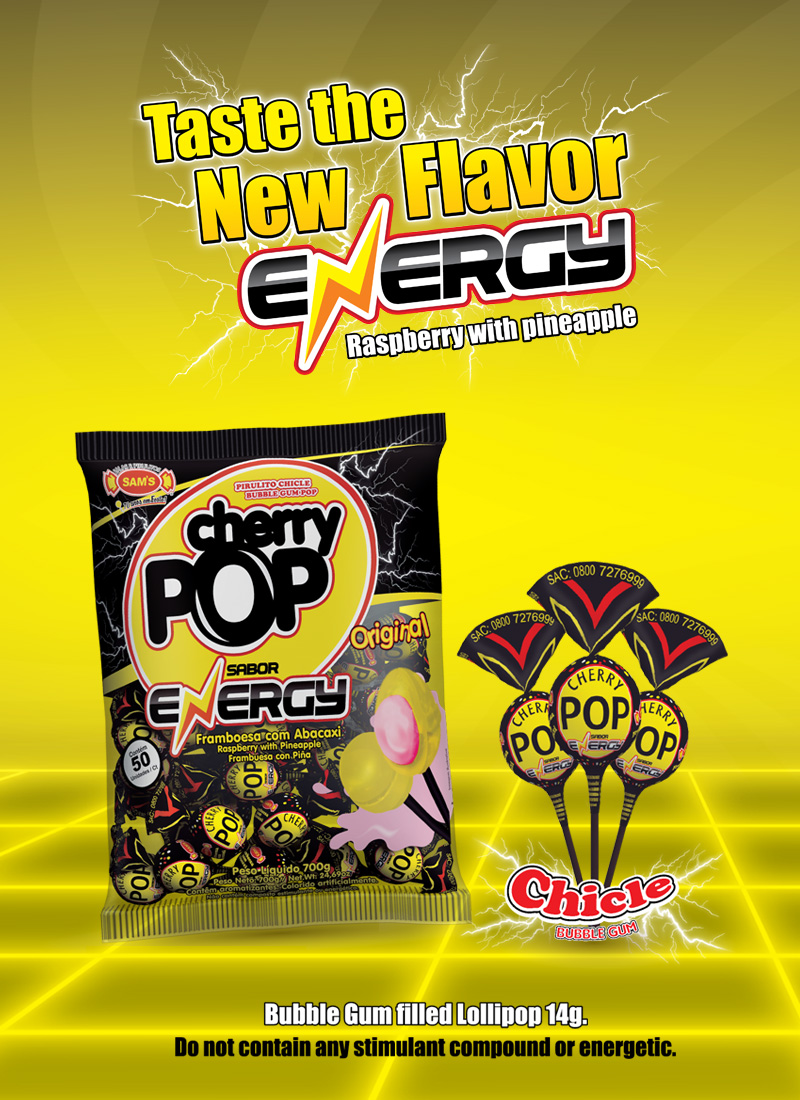 Energy Cherry Pop