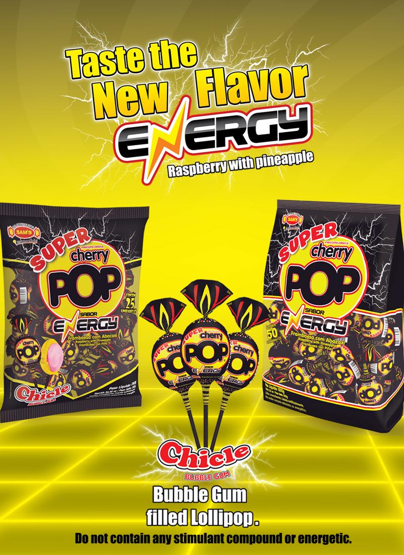 Energy Super Cherry Pop