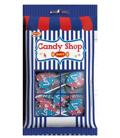 Flat Love Pop Cotton Candy -