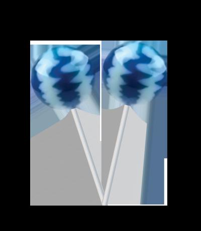 Original Gourmet Lollipop (31g) – Blueberries & Cream -